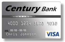 century bank credit card Personal Credit Cards - Century Bank